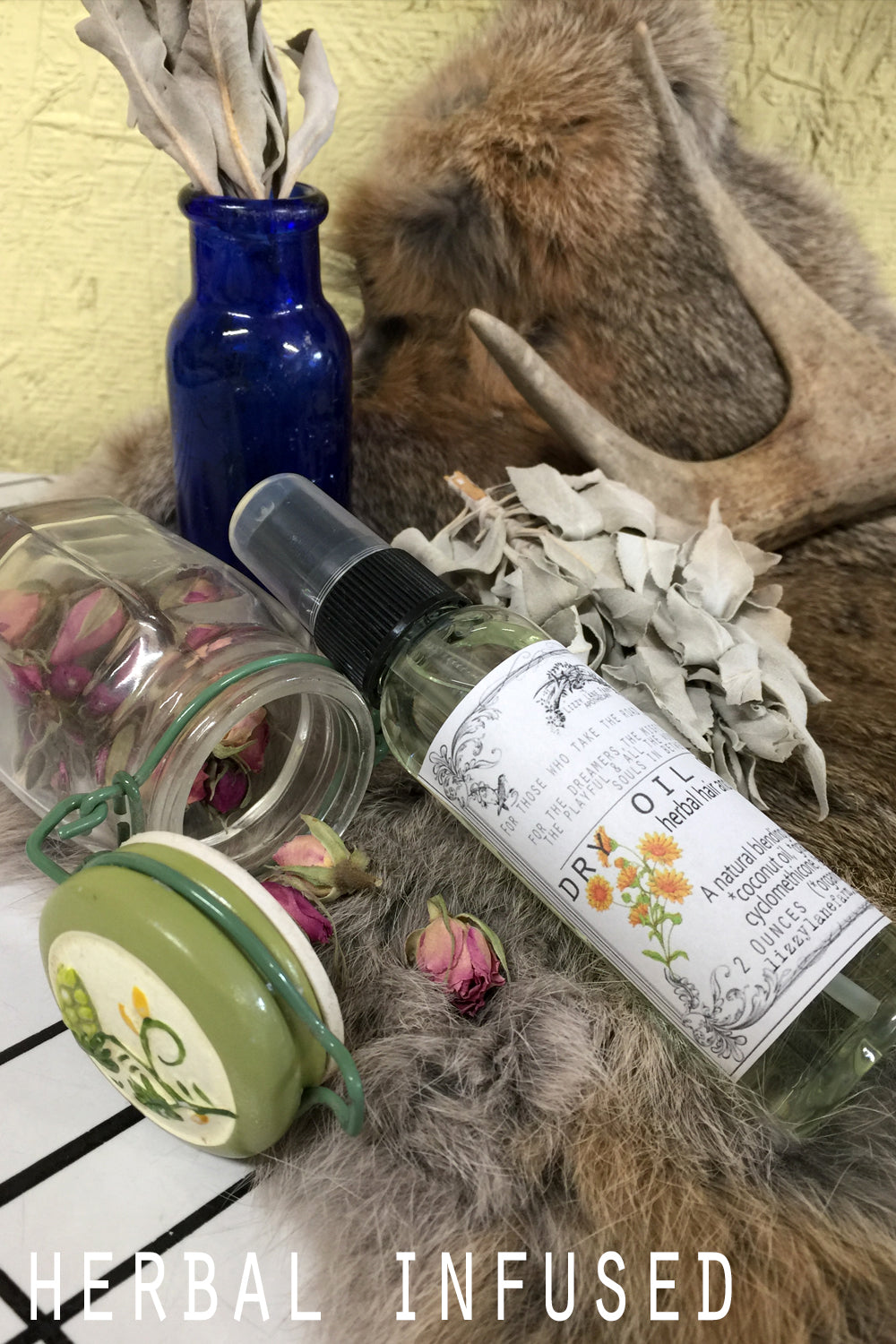 Dry Oil Body Spray- Limited Edition Spring Collection--PICK • YOUR • SCENT - Lizzy Lane Farm Apothecary
