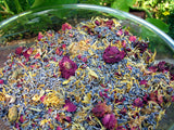 Herbal blend potpourri, lavender, calendula and rose. hightly scented in bulk