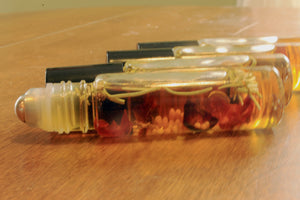 Botanical Personal Perfume Oil- PATCHOULI, Earthy, Musky. Great for layering - Lizzy Lane Farm Apothecary