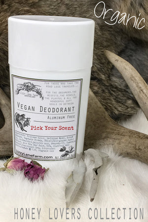 Natural Vegetable Protein Deodorant:  PICK • YOUR • SCENT :: Honey Lovers  Scents - Lizzy Lane Farm Apothecary