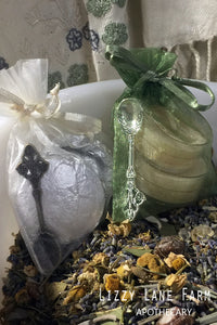 Incense Burning Kit | Tiny Incense Spoon, Charcoal, Beeswax Tealights