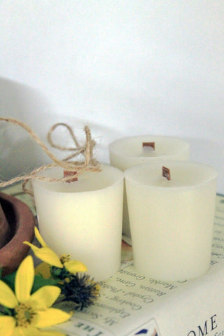 pure beeswax votive candles, organic ivory beeswax