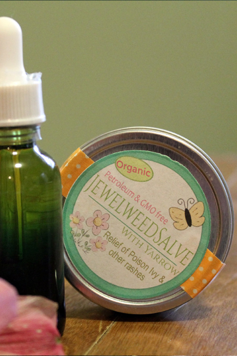 Jewelweed Herbal Salve - Lizzy Lane Farm Apothecary