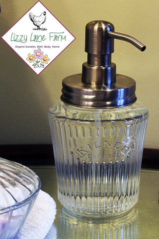 antique kilner mason jar soap dispenser stainless steel soap pump