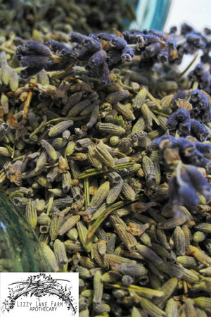 Lavender buds and flowers-Organic Craft Lavender - Lizzy Lane Farm Apothecary