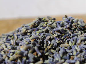 Herbal Bath Salts: Atlantic Sea Salt- French Lavender - Lizzy Lane Farm Apothecary