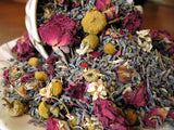 wedding toss flowers, rose, lavender and chamomile