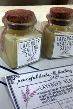 Load image into Gallery viewer, Lavender Healing Salve- Organic Herbal Healing Salve - Lizzy Lane Farm Apothecary