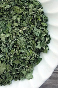 Organic Lemon Balm Leaf- Loose Dried Herb (Melissa officinalis) - Lizzy Lane Farm Apothecary