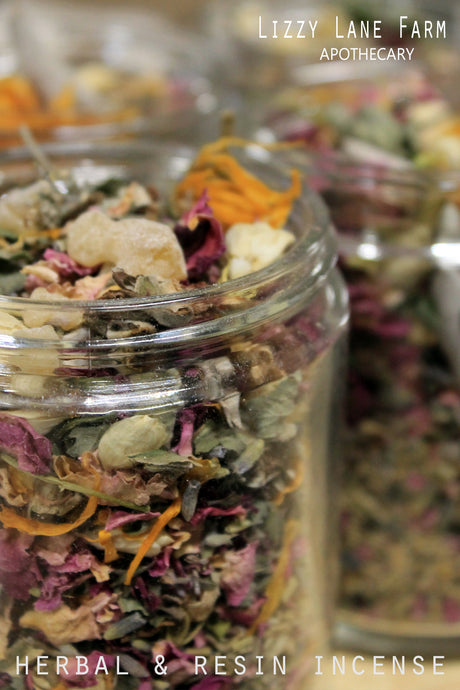 Frolic Herbal Incense - Lizzy Lane Farm Apothecary