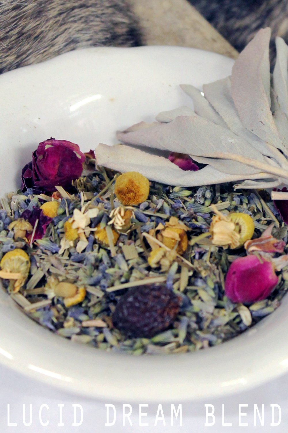 organic fresh dried lucid dream herbs
