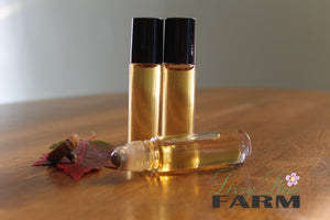 Personal Perfume Oil- AUTUMN HONEY- always the sweetest - Lizzy Lane Farm Apothecary