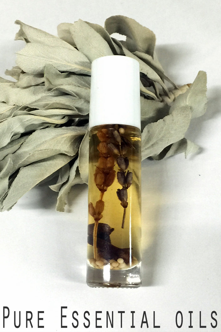 Botanical Personal Perfume Oil- POMERANDER, Cinnamon, Clove, Orange - Lizzy Lane Farm Apothecary