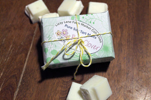 Red Clover Wax Melt Tart - Lizzy Lane Farm Apothecary