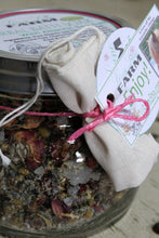 Load image into Gallery viewer, Organic Bath Salts: Atlantic Sea Salt- Sweet Sleep- Bulk Jar - Lizzy Lane Farm Apothecary