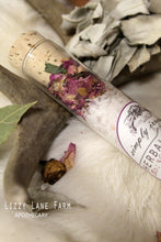 Load image into Gallery viewer, Herbal Bath Salts: Aromatherapy Soaking Salts- Rose Geranium, Ivy, Lavender, Delicate Rose