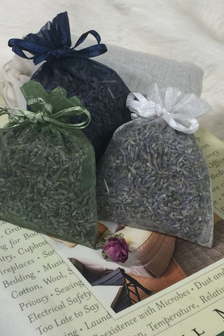lavender sachet bags for weddings and showers, or to freshen your home