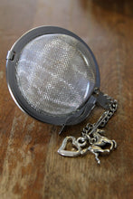"Load image into Gallery viewer, Tea Ball Infuser- small 2"" mesh tea ball- horse and heart - Lizzy Lane Farm Apothecary"