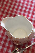 Load image into Gallery viewer, Vintage Bone China Creamer- floral, petite - Lizzy Lane Farm Apothecary