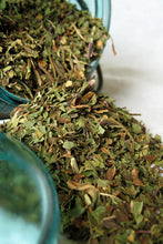 Load image into Gallery viewer, Organic Spearmint Leaf- Loose Spearmint Dried Herb (Mentha spicata) Spearmint tea bags - Lizzy Lane Farm Apothecary