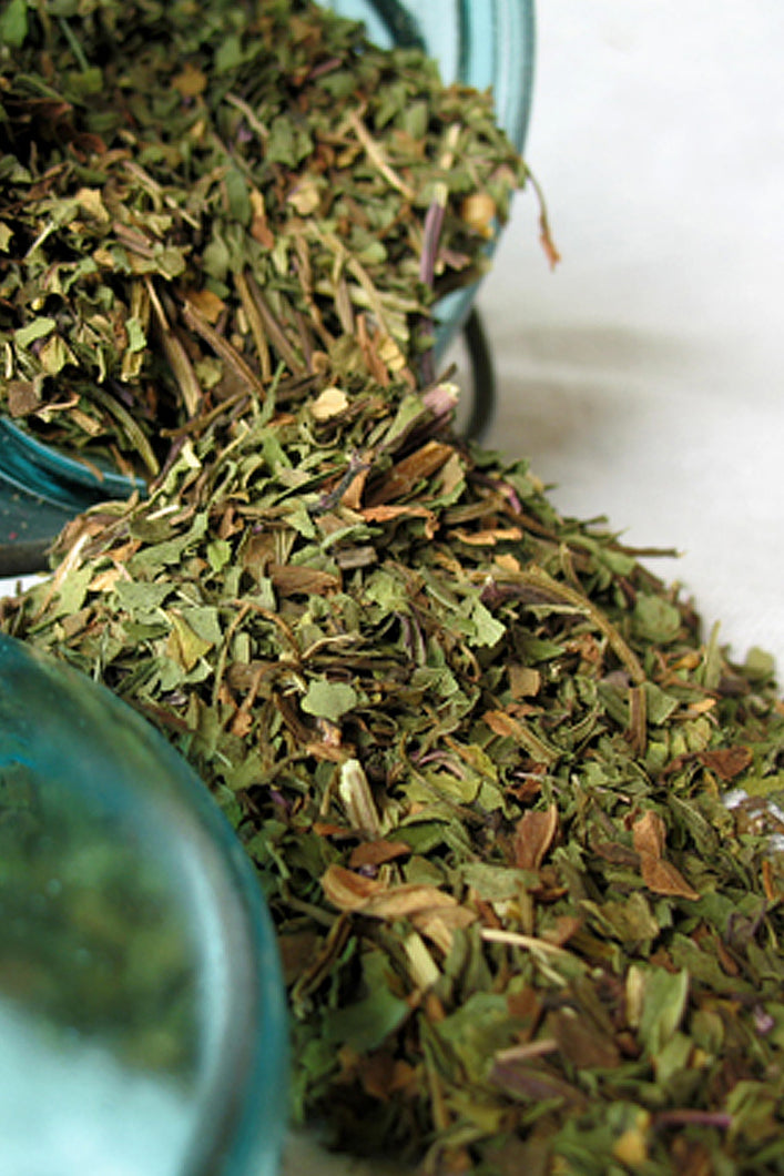 Peppermint Leaf- Loose Peppermint Dried Herb (Mentha piperata) Peppermint tea bags- Organic - Lizzy Lane Farm Apothecary