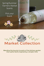 Load image into Gallery viewer, Personal Perfume Oil- Spring/Summer Farmer's Market Choice - Lizzy Lane Farm Apothecary