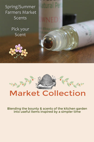 market collection spring summer collection. pick your scent