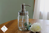 ball jar soap dispenser rust proof lid