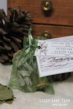 Load image into Gallery viewer, Winter Calm Intention Oil & Herbal Sachet