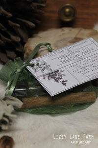 yule tide cheer intention ritual oil
