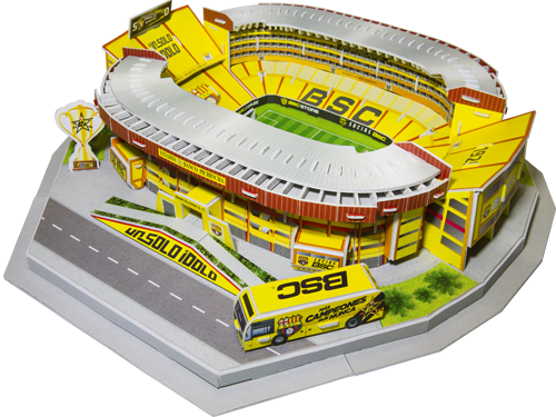 Puzzle 3D Barcelona Sporting Club