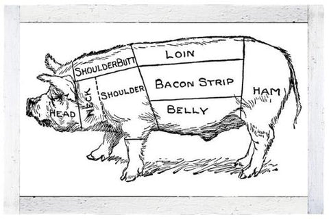 Heritage Breed Pork Deposits, Pasture Raised