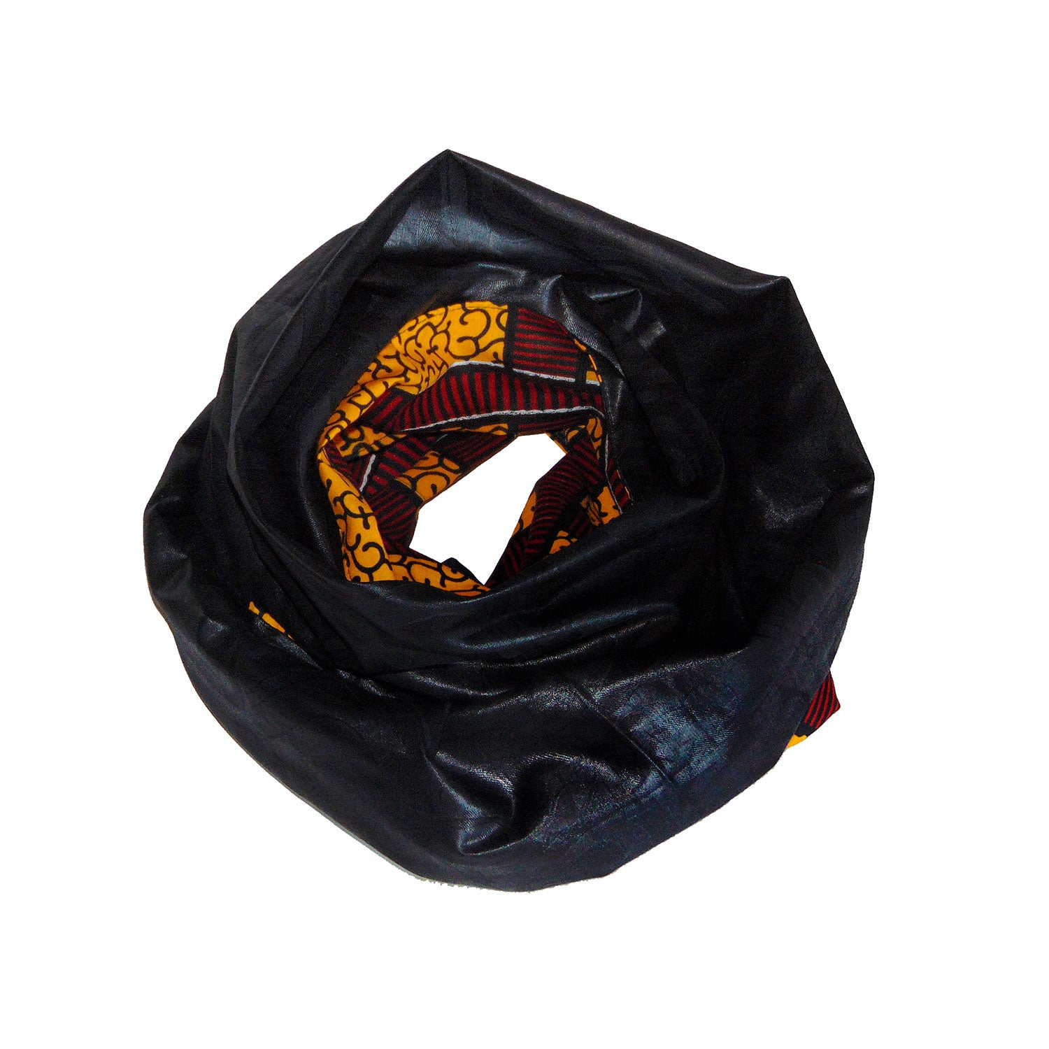 ANJA REVERSIBLE SCARF, HEADWRAP