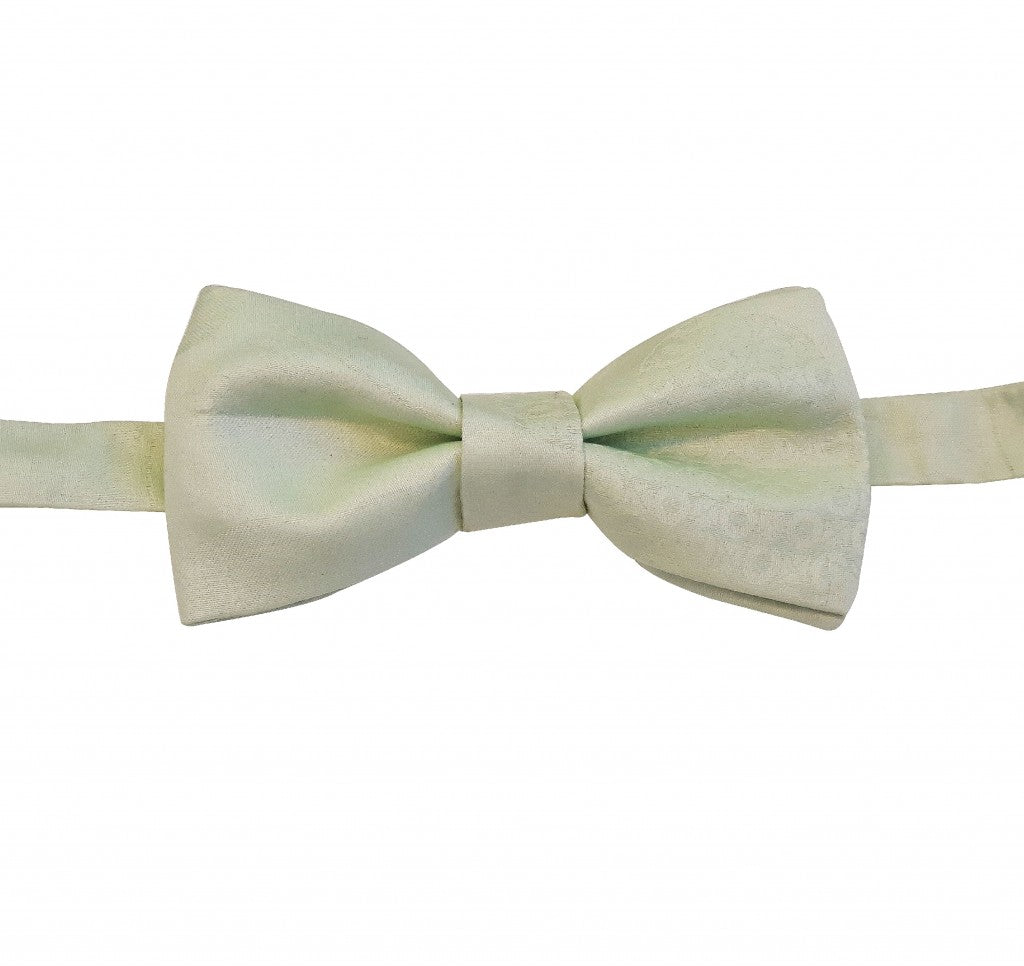 WHITE COTTON BOW TIE