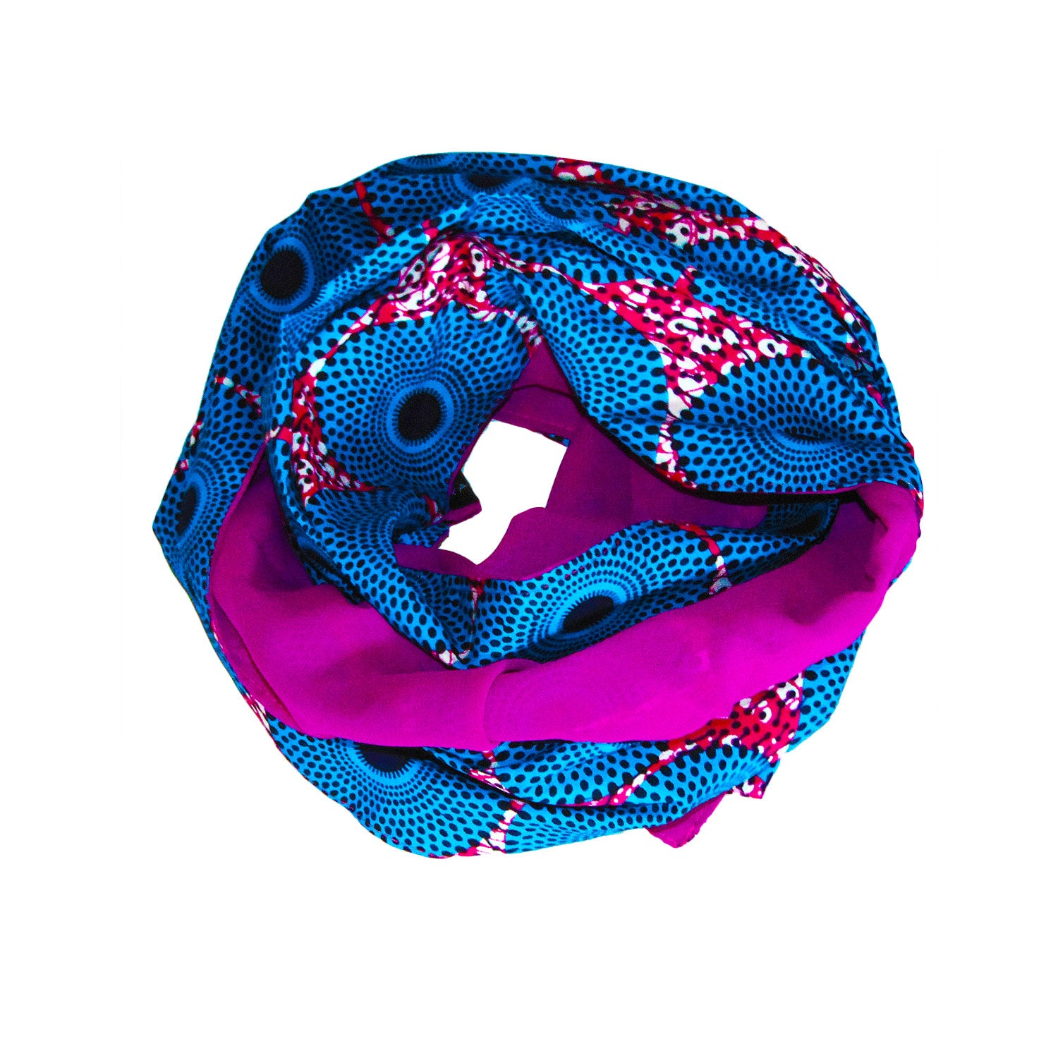 OLGA REVERSIBLE SCARF, HEADWRAP