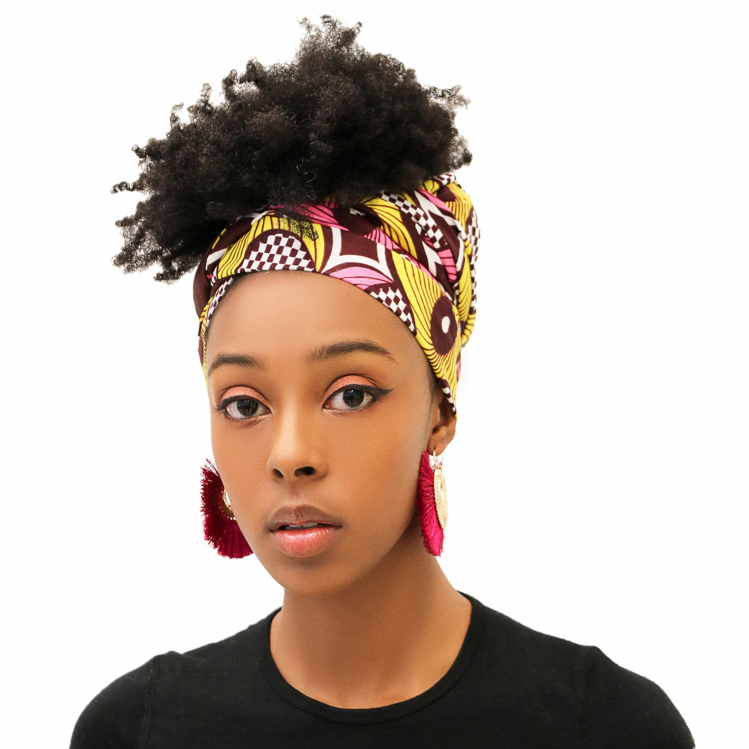 MINA REVERSIBLE SCARF, HEADWRAP