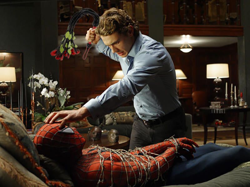 HAVE A SEXY WEEKEND WITH THIS SPIDER-MAN JAMES FRANCO EROTIC FAN FICTION
