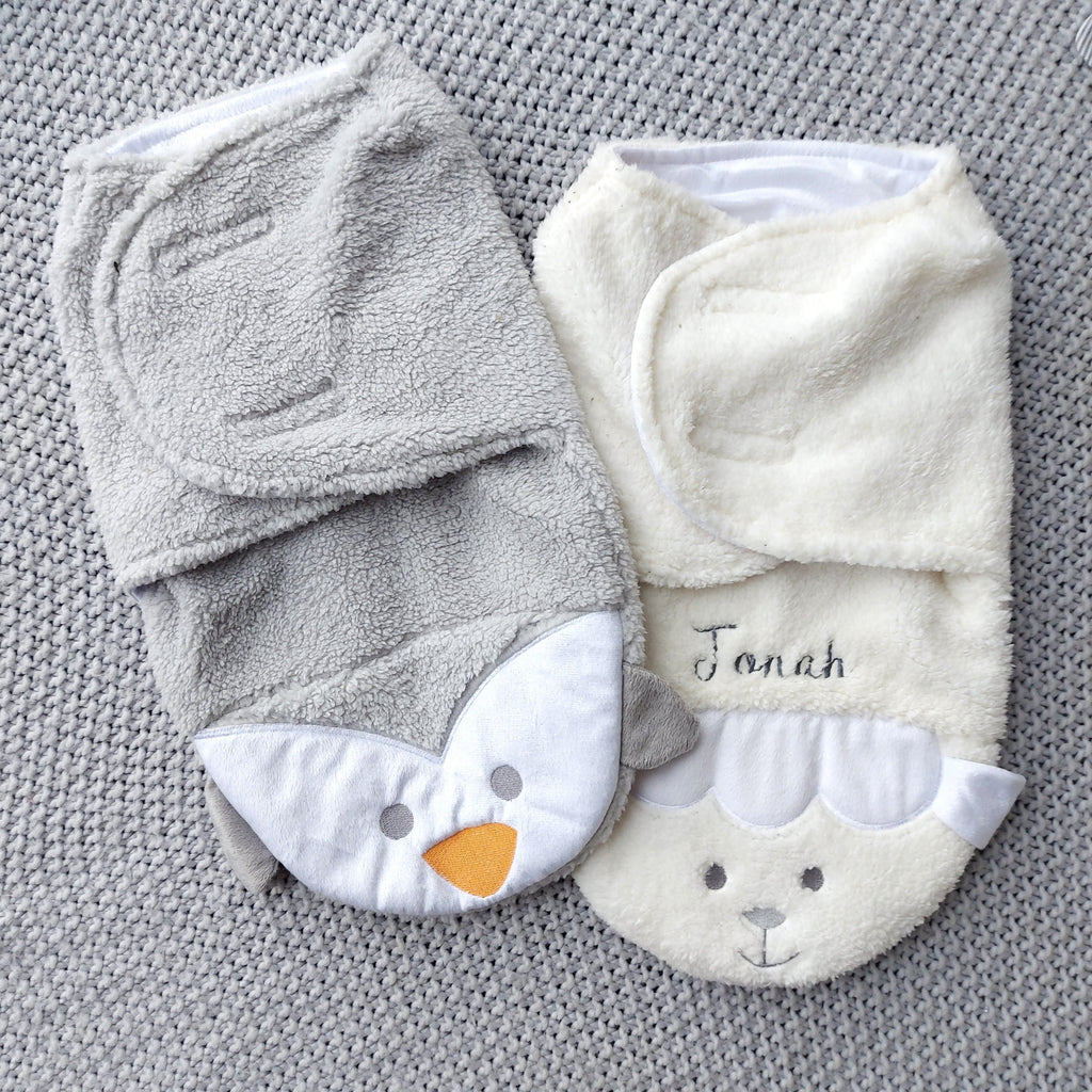 Animal Swaddle Blanket