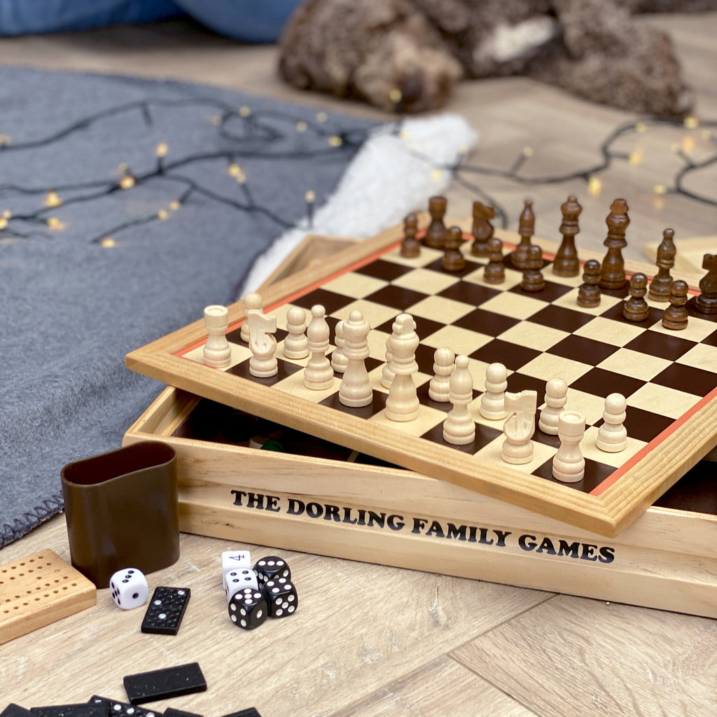 Personalised Family Multi Game Set