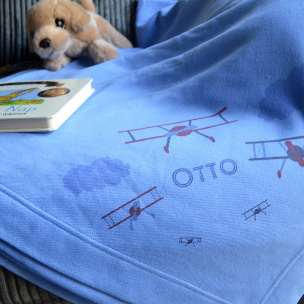 Children's Airplane Blanket