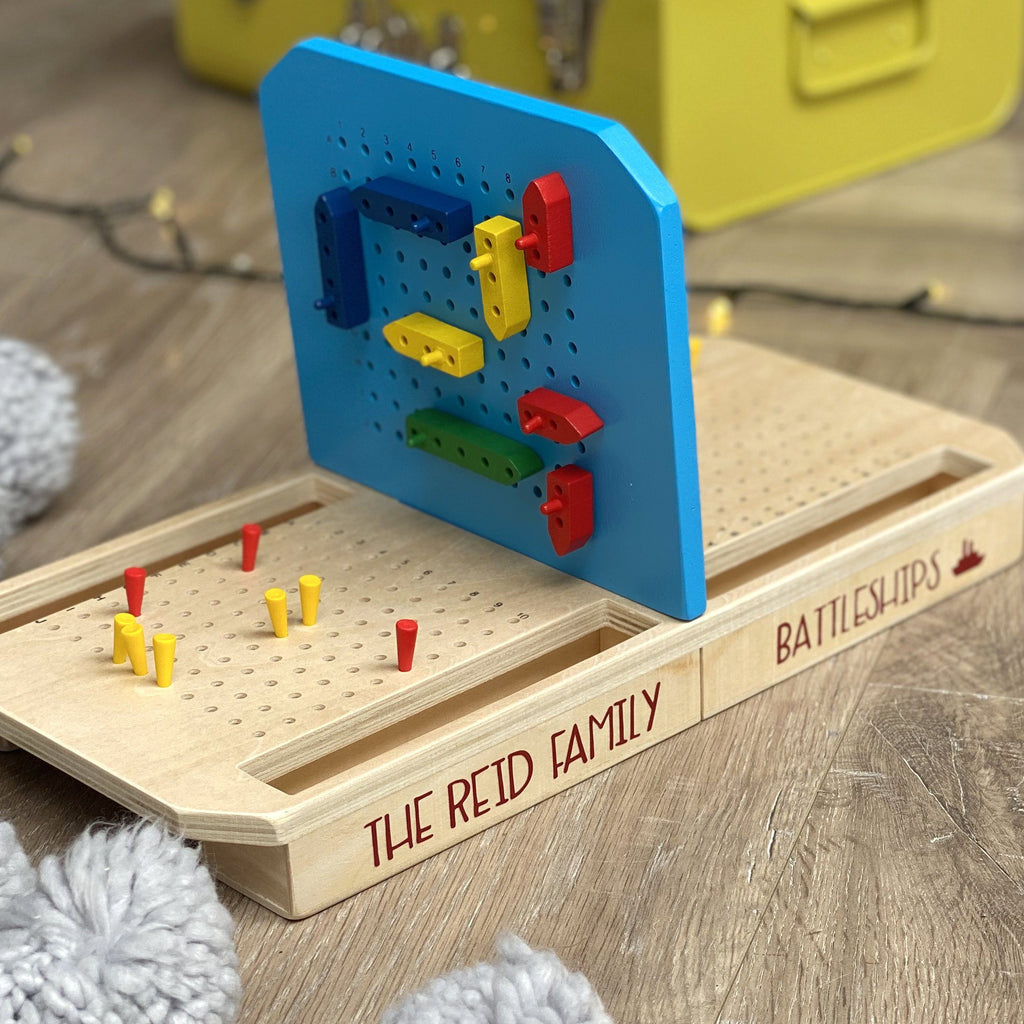 Wooden Battleship Game