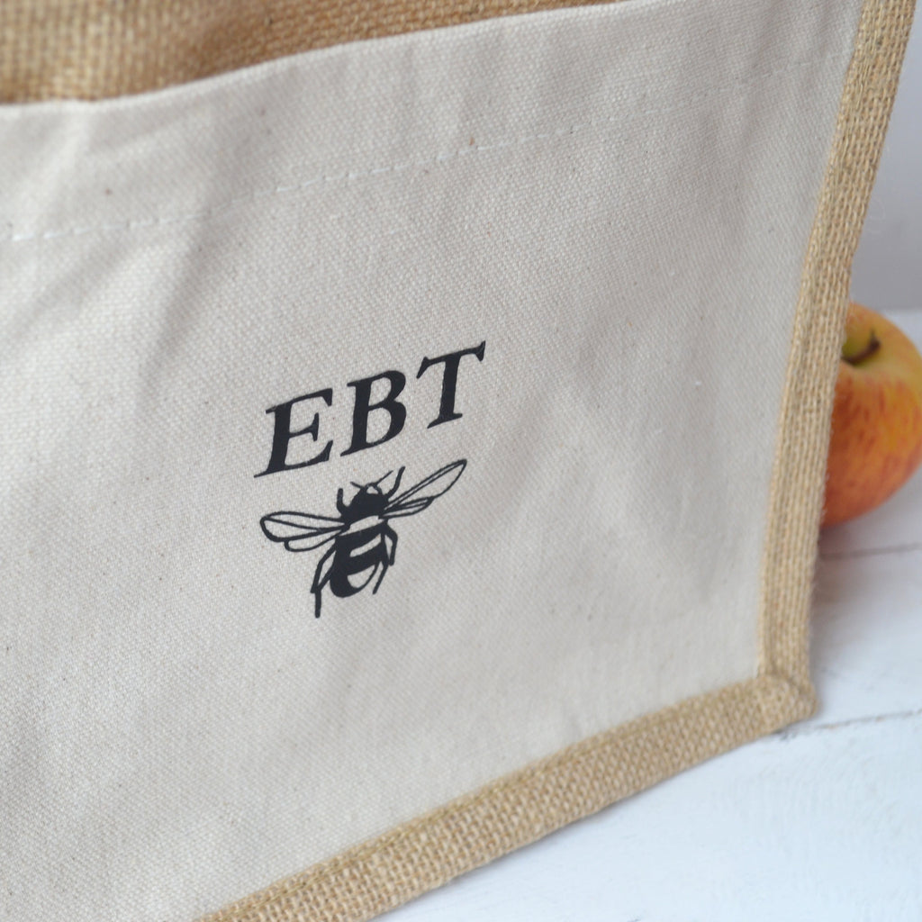 Personalised Bee Lunch Bag
