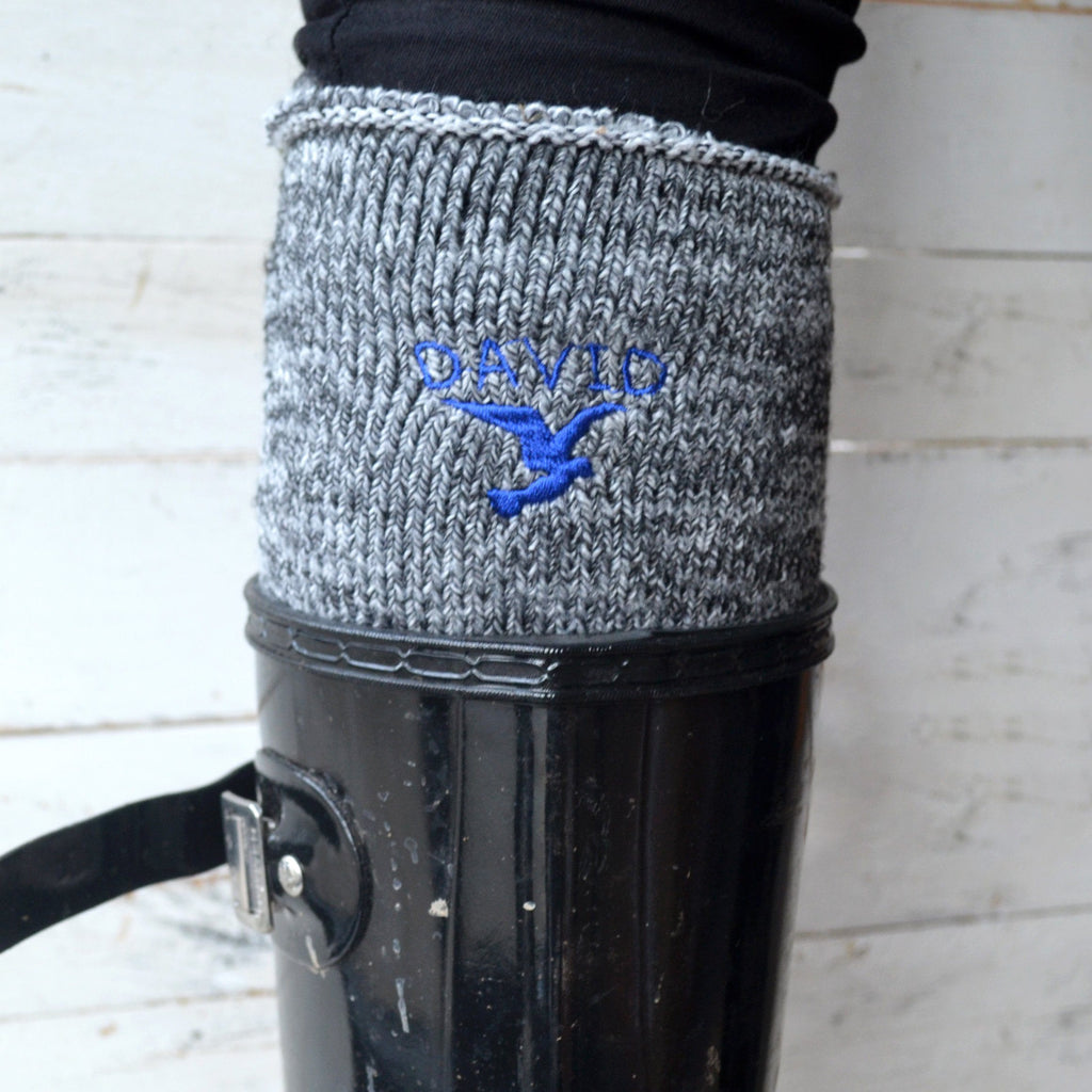 Personalised Starling Welly Socks
