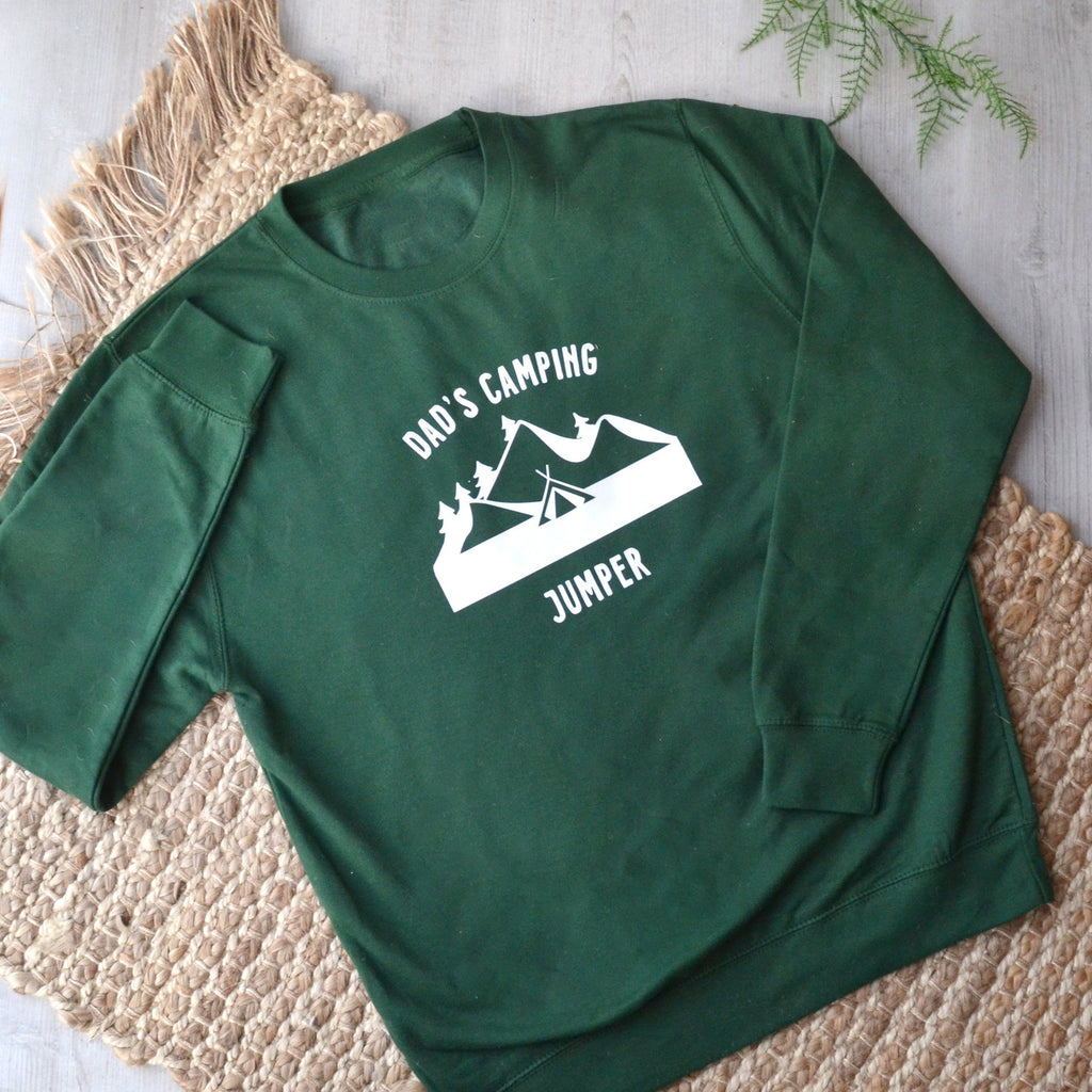 Personalised Camping Jumper