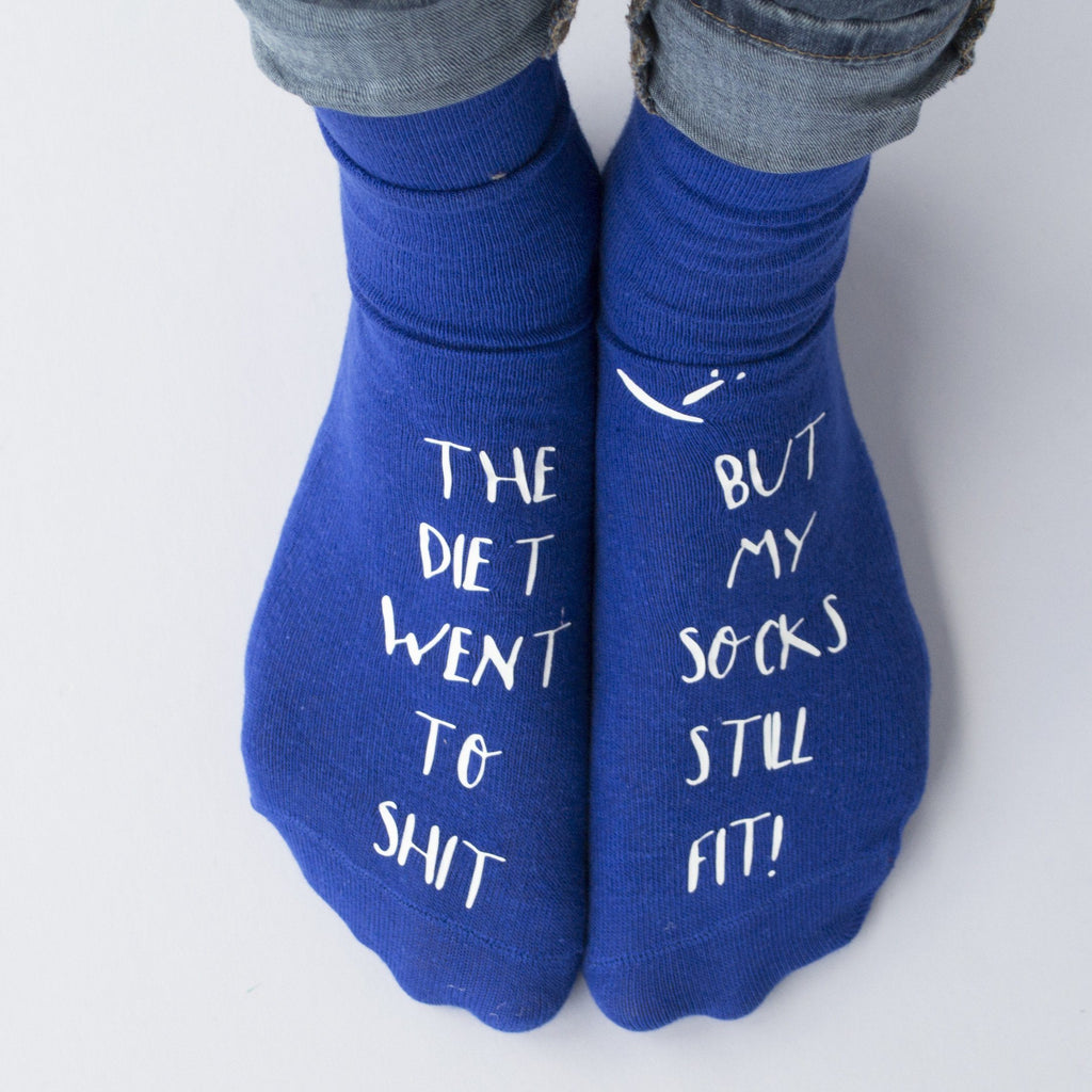 Diet Joke Socks, Socks, - ALPHS