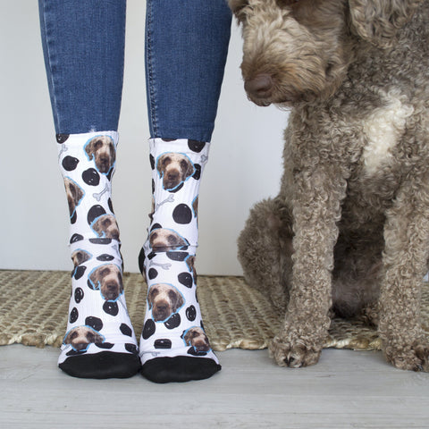Personalised Dog Pet Photo Socks