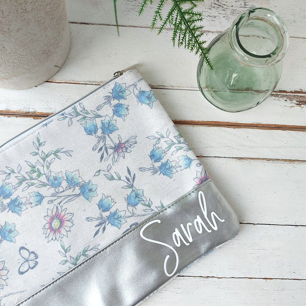 Floral Toiletries Bag