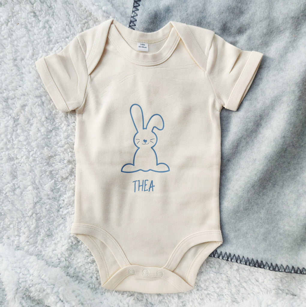 Personalised Easter Bunny Babygrow