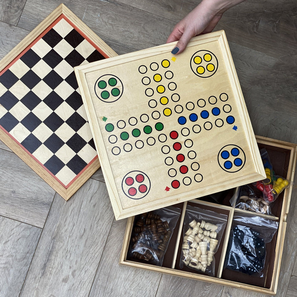 Personalised Family Chess and Multi Game Set