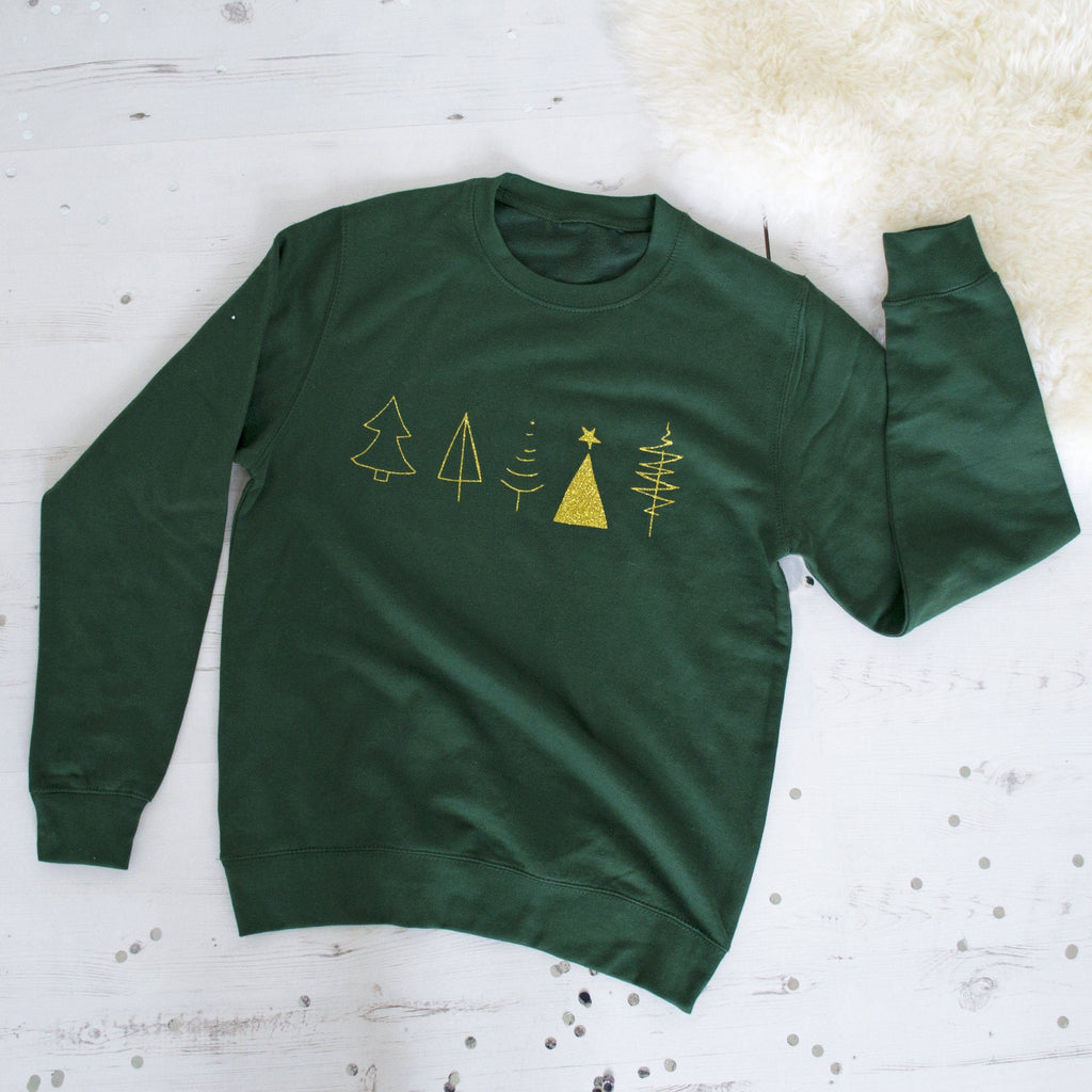Glitter Tree Christmas Jumper, Jumper, - ALPHS